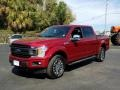 2019 Ruby Red Ford F150 XLT Sport SuperCrew 4x4  photo #1