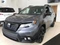 Modern Steel Metallic 2019 Honda Passport Elite AWD