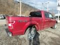 2019 Ruby Red Ford F150 XLT SuperCab 4x4  photo #2