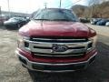 2019 Ruby Red Ford F150 XLT SuperCab 4x4  photo #7