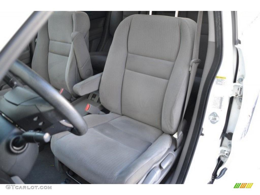 2009 CR-V EX 4WD - Taffeta White / Gray photo #12