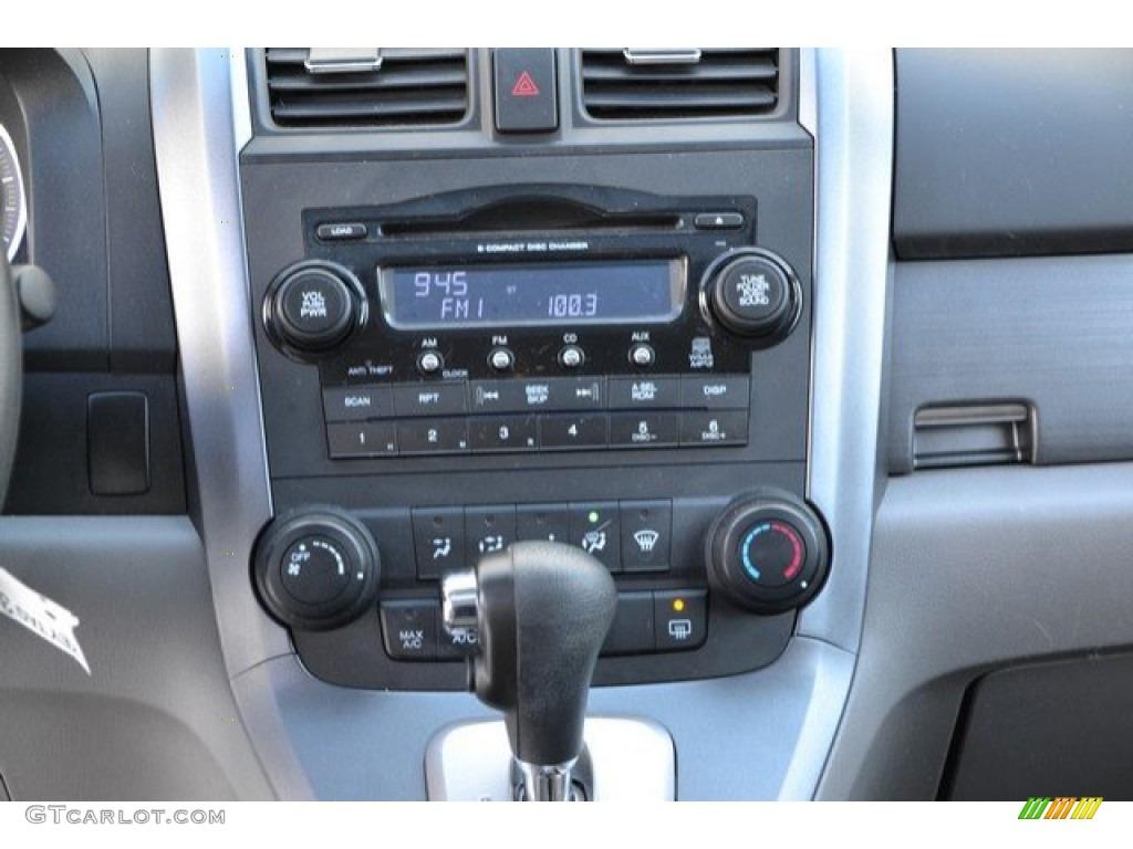 2009 CR-V EX 4WD - Taffeta White / Gray photo #15