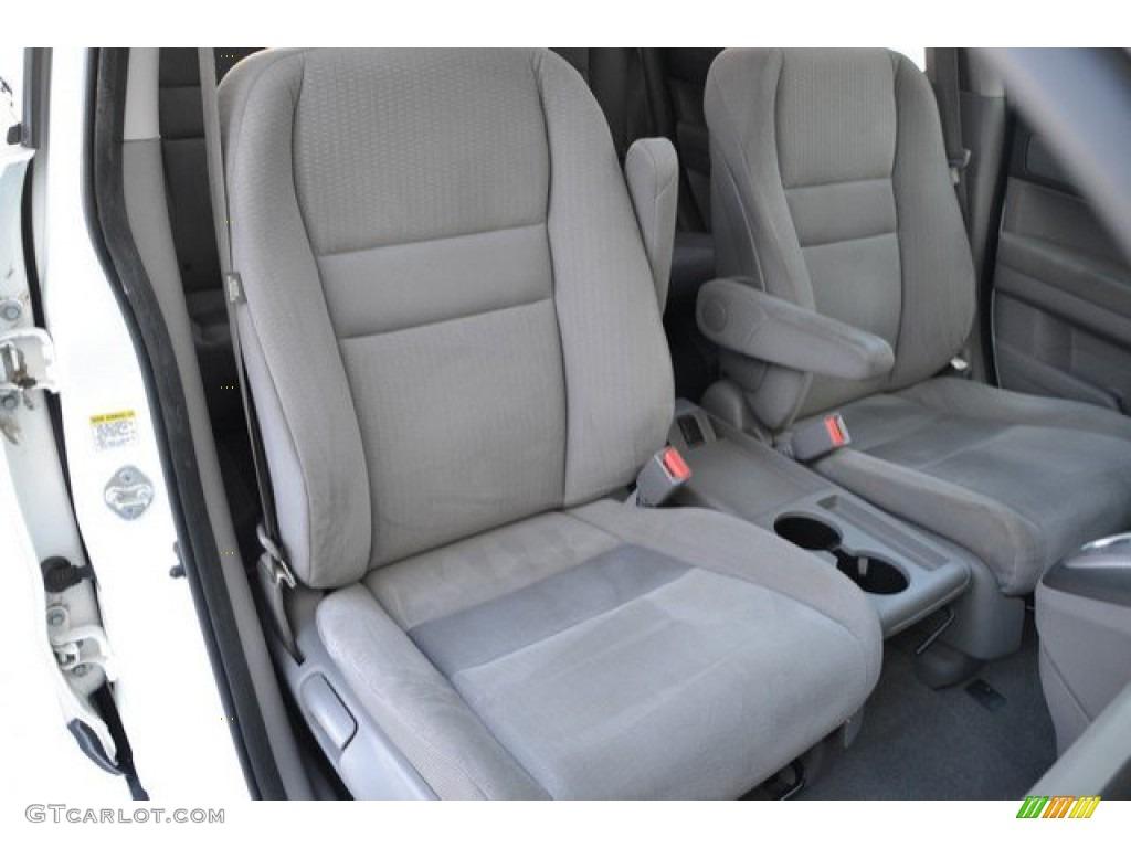 2009 CR-V EX 4WD - Taffeta White / Gray photo #19