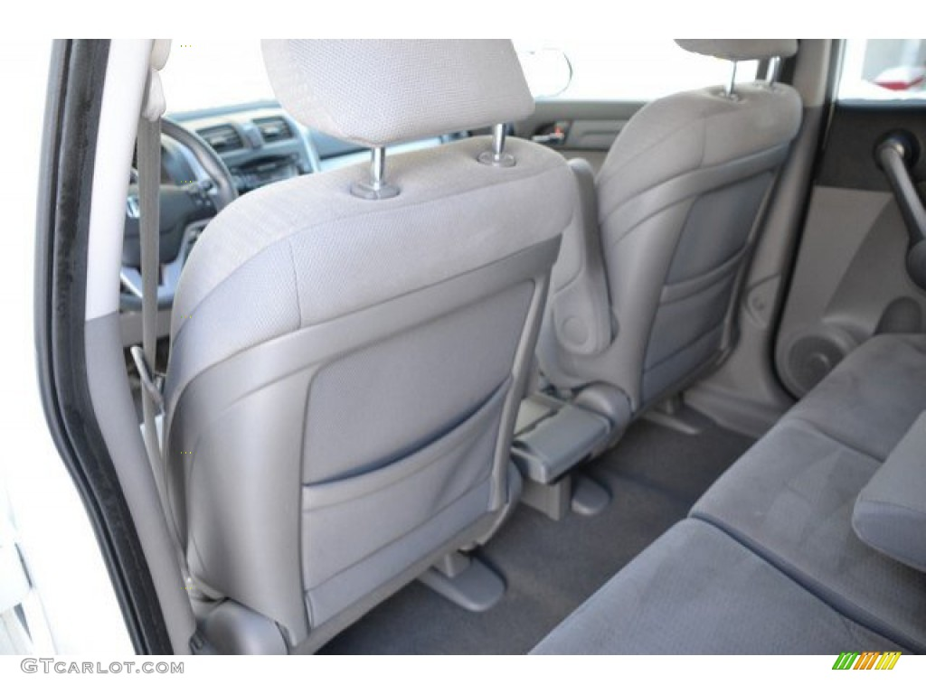 2009 CR-V EX 4WD - Taffeta White / Gray photo #20