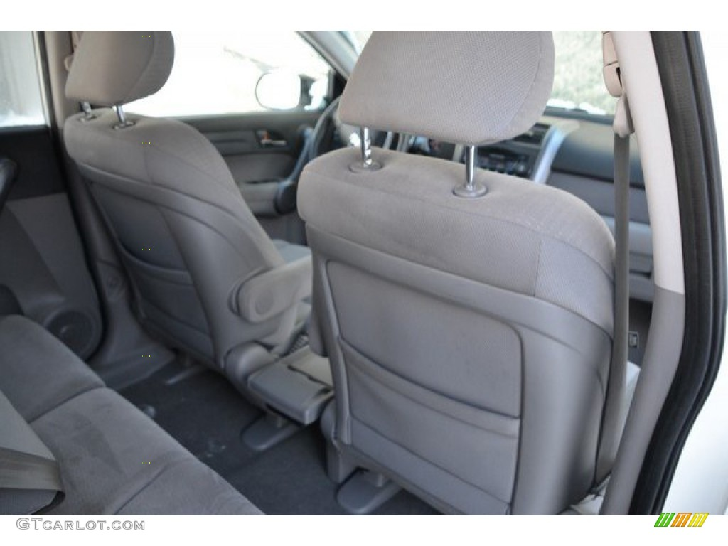 2009 CR-V EX 4WD - Taffeta White / Gray photo #21