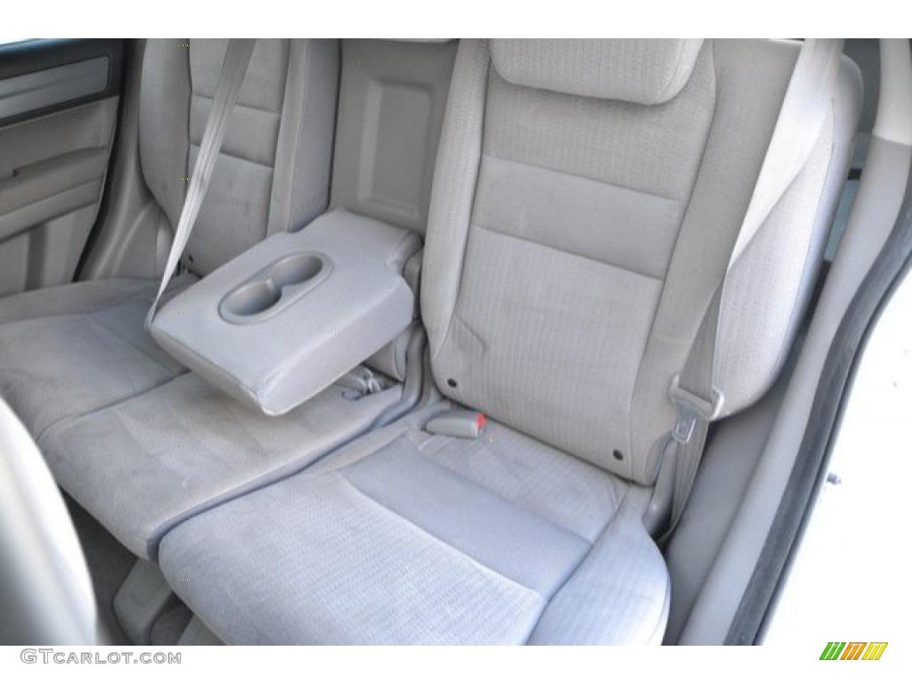 2009 CR-V EX 4WD - Taffeta White / Gray photo #23