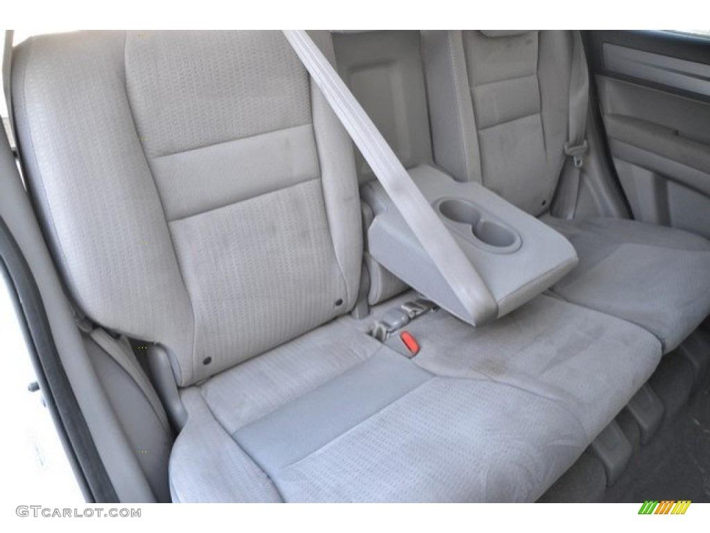 2009 CR-V EX 4WD - Taffeta White / Gray photo #24