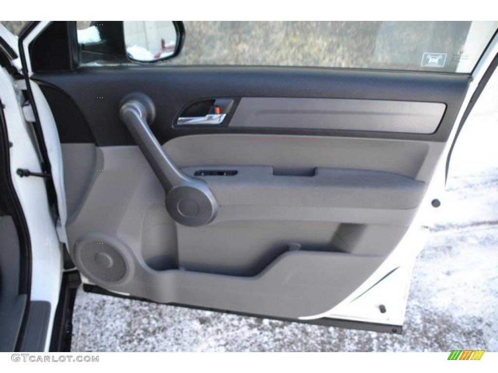 2009 CR-V EX 4WD - Taffeta White / Gray photo #26