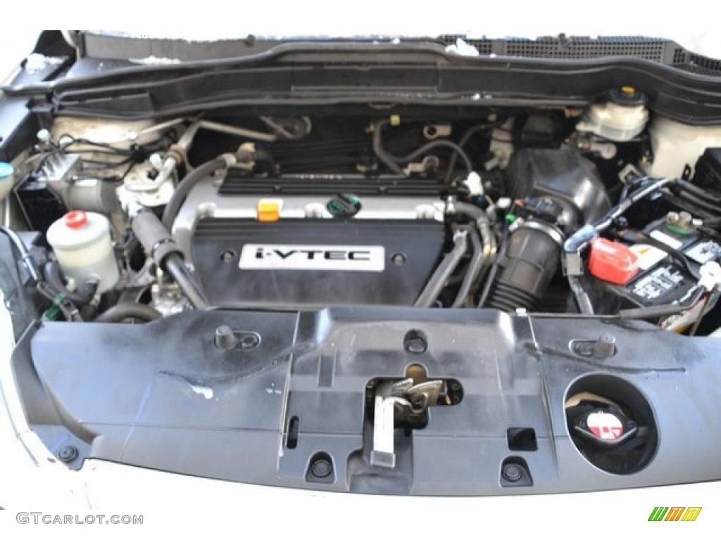 2009 CR-V EX 4WD - Taffeta White / Gray photo #28