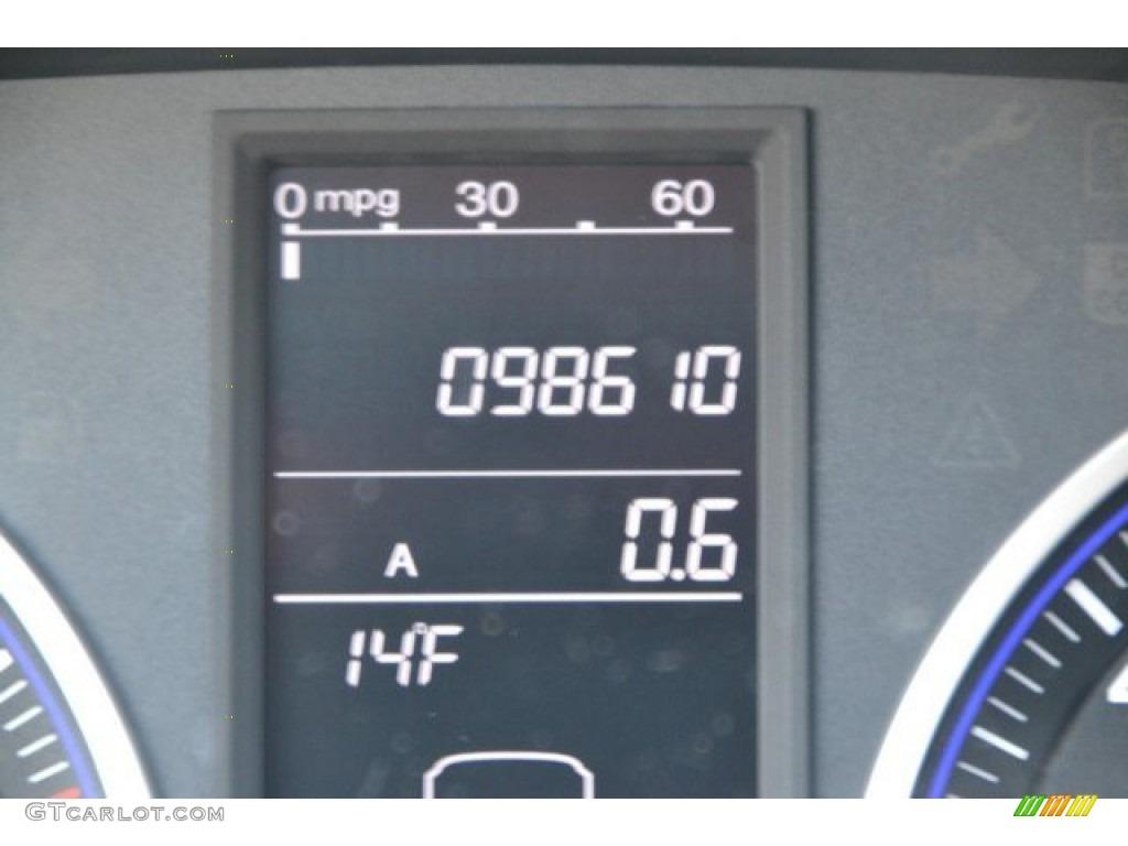 2009 CR-V EX 4WD - Taffeta White / Gray photo #30
