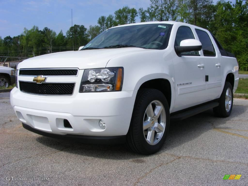 2009 summit white chevrolet avalanche lt 13176192 photo 2 car color galleries. Black Bedroom Furniture Sets. Home Design Ideas