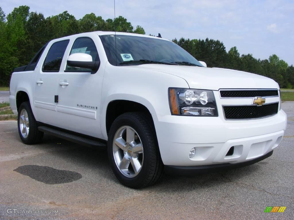 2009 summit white chevrolet avalanche lt 13176192 photo 4 car color galleries. Black Bedroom Furniture Sets. Home Design Ideas