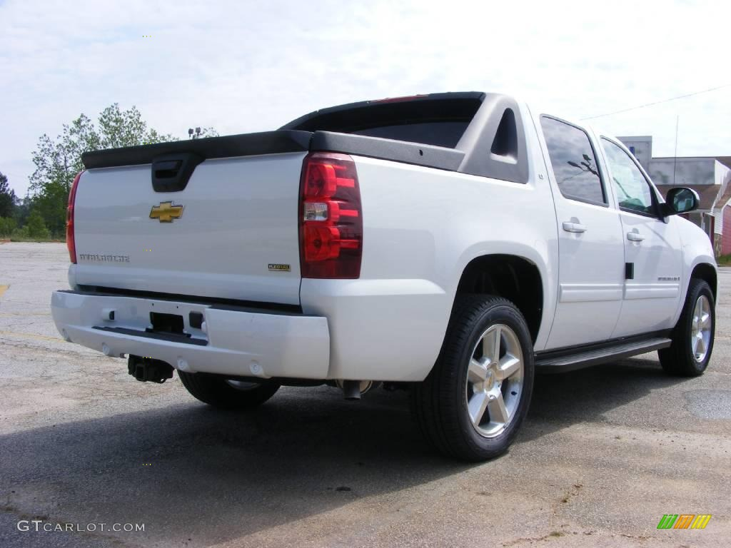 2009 summit white chevrolet avalanche lt 13176192 photo 6 car color galleries. Black Bedroom Furniture Sets. Home Design Ideas