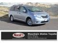 2011 Silver Sky Metallic Toyota Sienna XLE #131858083