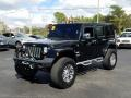 Black 2013 Jeep Wrangler Unlimited Sahara 4x4