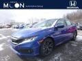 Agean Blue Metallic 2019 Honda Civic Sport Sedan