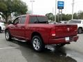 2012 Deep Cherry Red Crystal Pearl Dodge Ram 1500 Express Quad Cab 4x4  photo #3