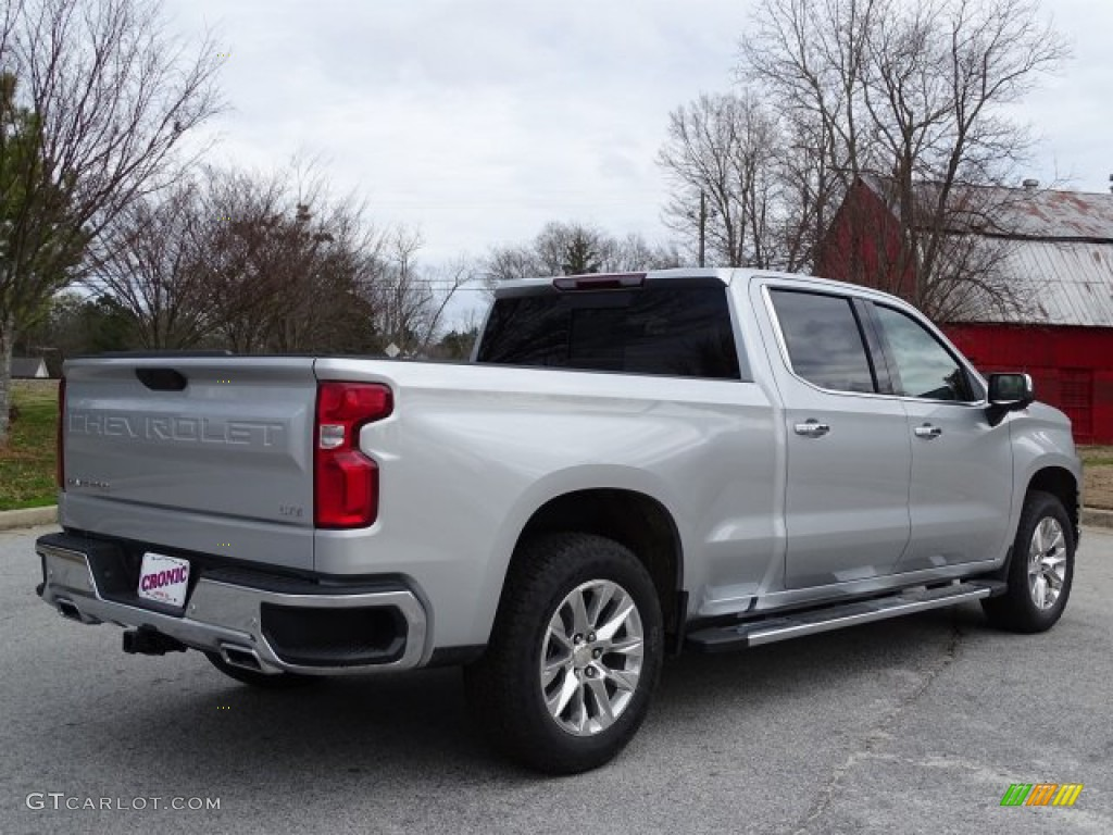 2019 Silverado 1500 LTZ Crew Cab 4WD - Silver Ice Metallic / Jet Black photo #5