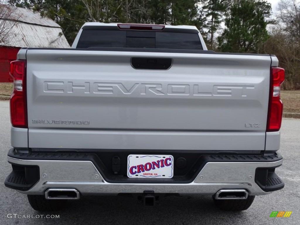 2019 Silverado 1500 LTZ Crew Cab 4WD - Silver Ice Metallic / Jet Black photo #6