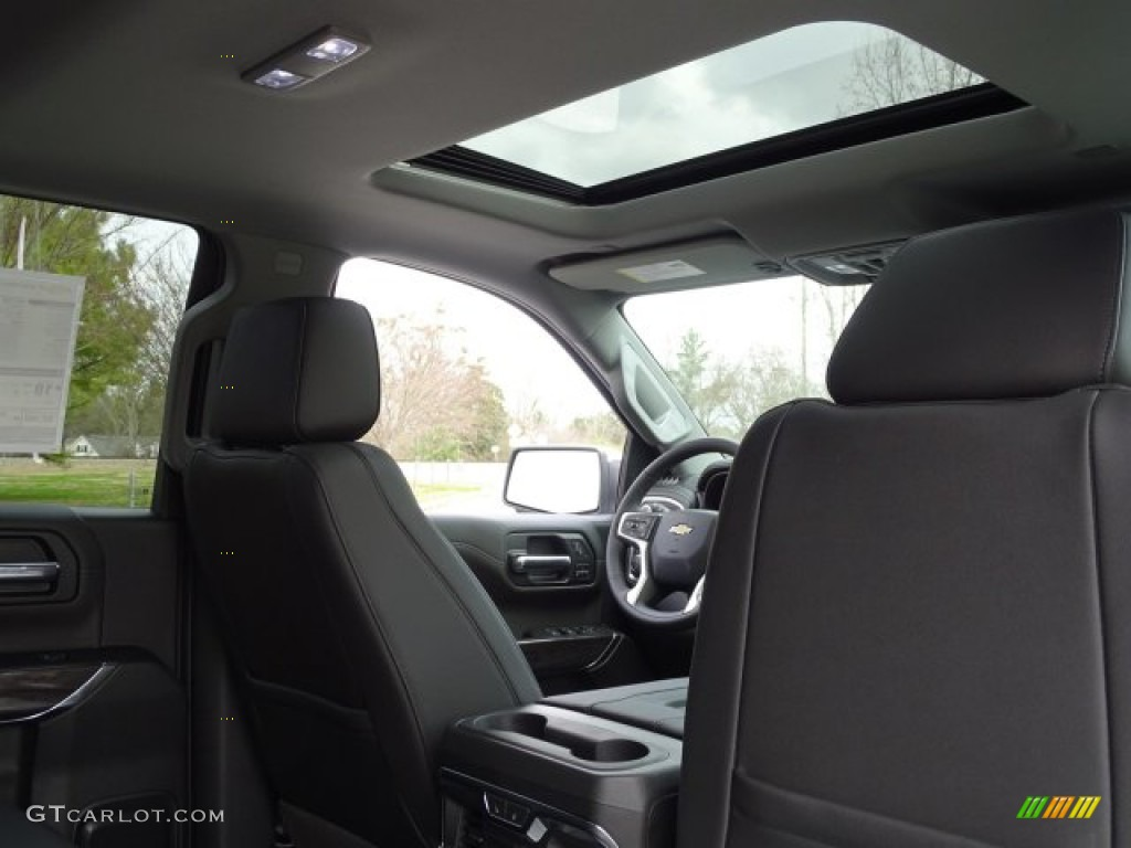 2019 Silverado 1500 LTZ Crew Cab 4WD - Silver Ice Metallic / Jet Black photo #31