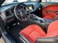 2019 Dodge Challenger Ruby Red/Black Interior Interior Photo