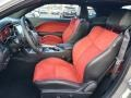 2019 Dodge Challenger Ruby Red/Black Interior Front Seat Photo