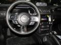 Shelby Two-Tone Black/Gray Steering Wheel Photo for 2019 Ford Mustang #131910324