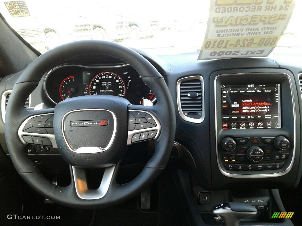 2019 Dodge Durango Citadel Sepia Black Dashboard Photo 131914875 Gtcarlot Com