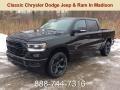 Diamond Black Crystal Pearl 2019 Ram 1500 Big Horn Crew Cab 4x4