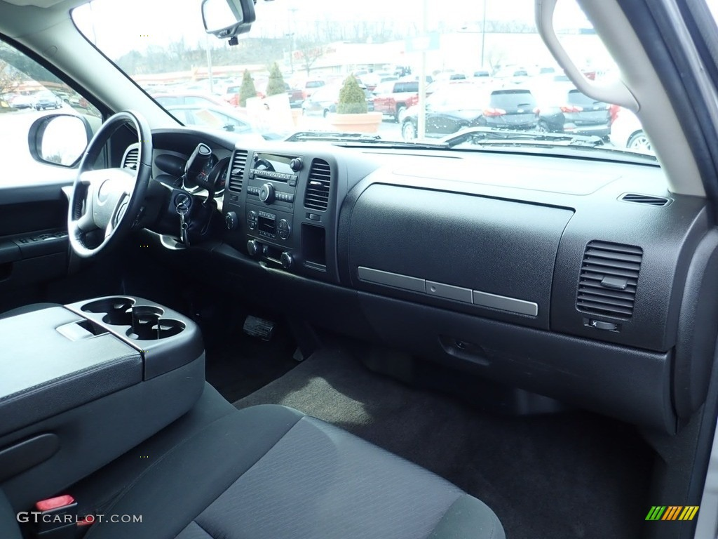 2012 Silverado 1500 LT Extended Cab 4x4 - Silver Ice Metallic / Ebony photo #15