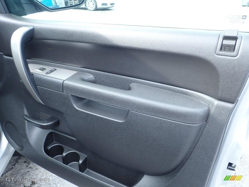 2012 Silverado 1500 LT Extended Cab 4x4 - Silver Ice Metallic / Ebony photo #16