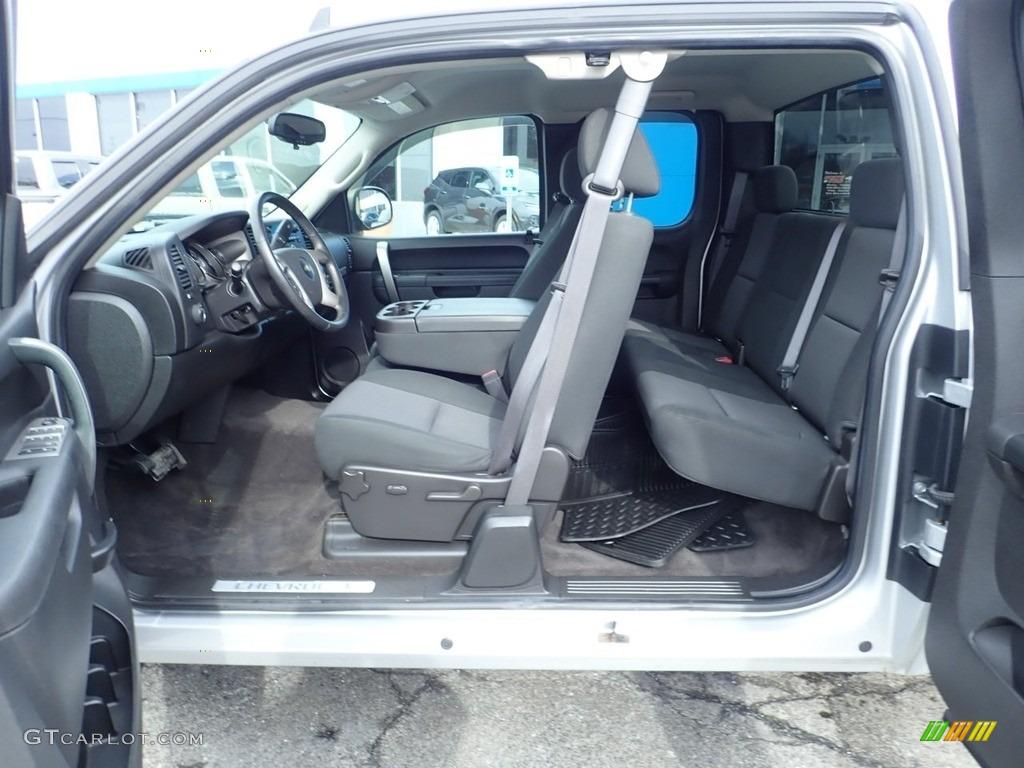 2012 Silverado 1500 LT Extended Cab 4x4 - Silver Ice Metallic / Ebony photo #21