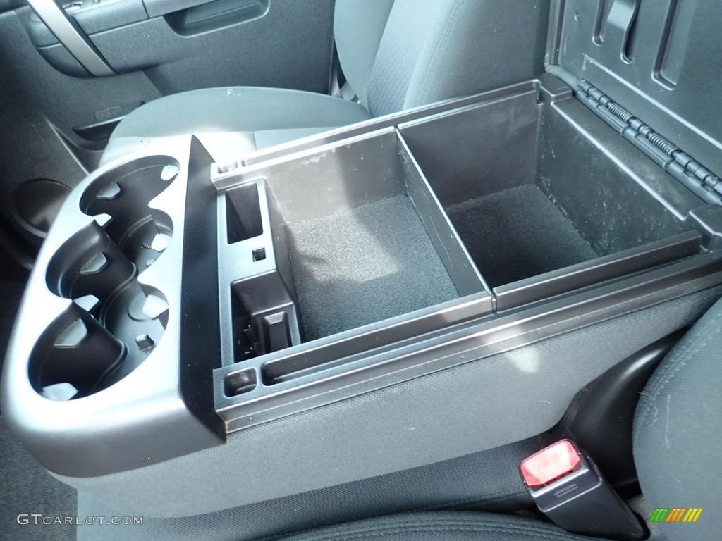 2012 Silverado 1500 LT Extended Cab 4x4 - Silver Ice Metallic / Ebony photo #28