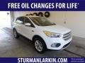 2019 Oxford White Ford Escape SE 4WD  photo #1