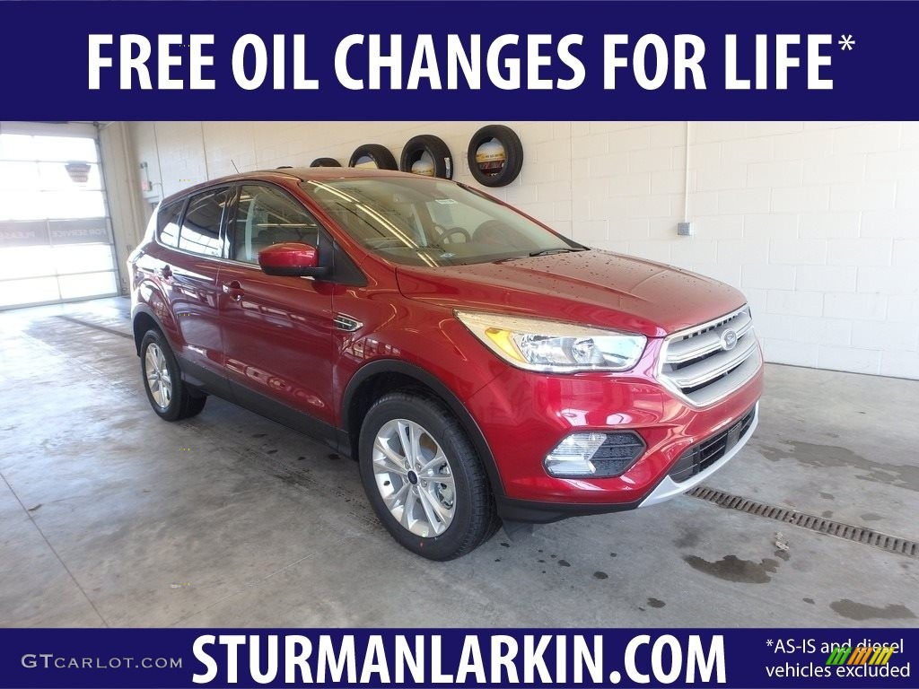 2019 Escape SEL 4WD - Ruby Red / Medium Light Stone photo #1