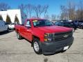 2014 Victory Red Chevrolet Silverado 1500 WT Regular Cab  photo #1