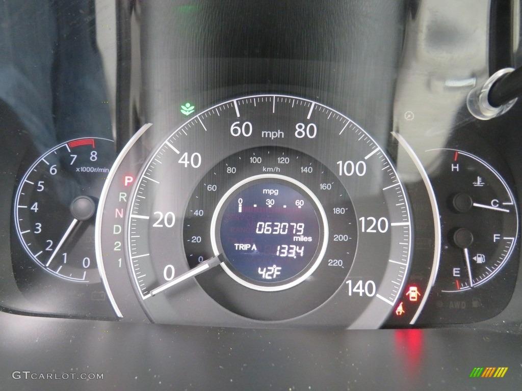 2012 CR-V LX 4WD - Taffeta White / Gray photo #2
