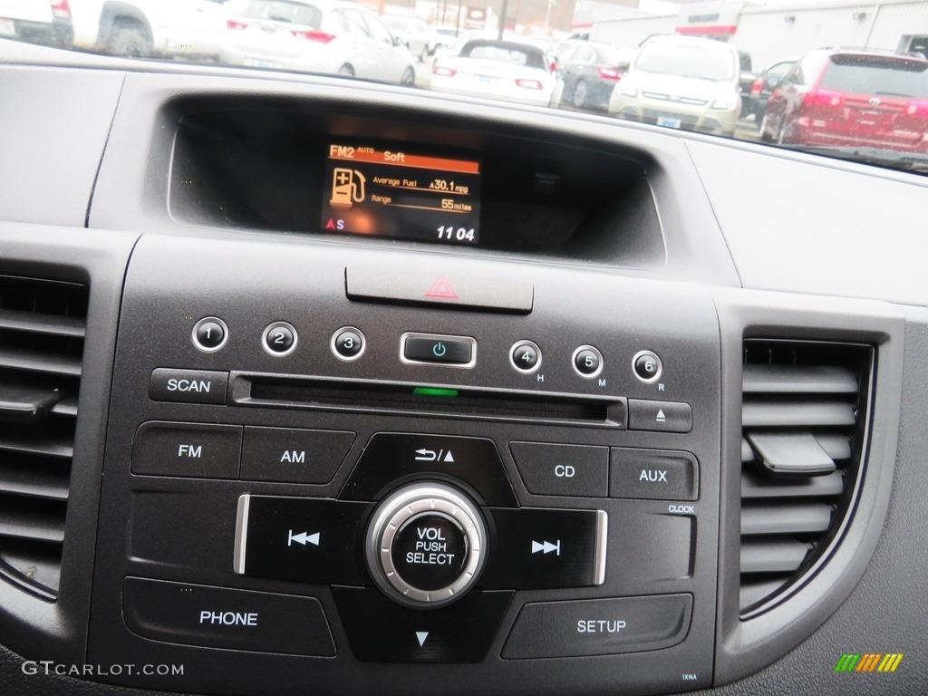 2012 CR-V LX 4WD - Taffeta White / Gray photo #3