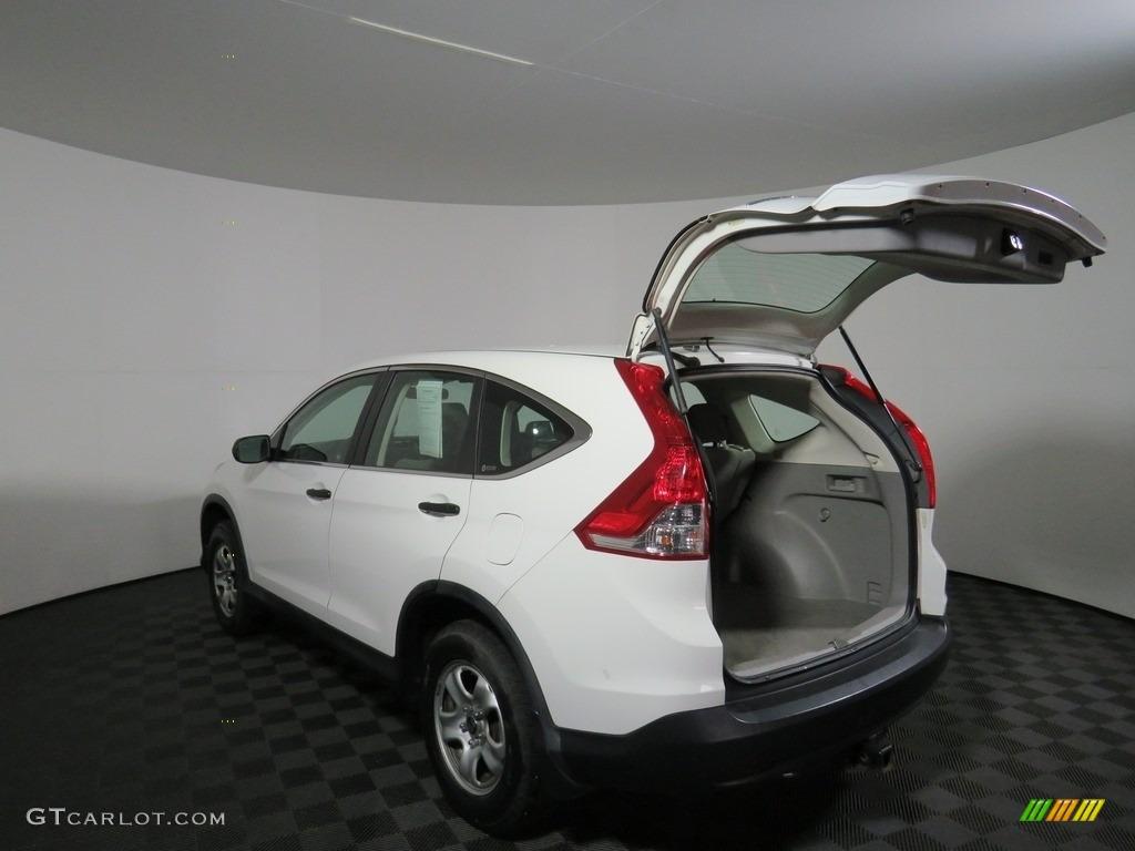 2012 CR-V LX 4WD - Taffeta White / Gray photo #10