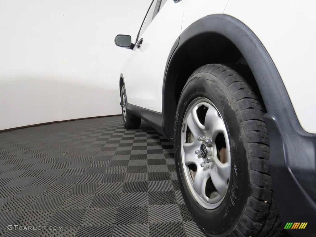 2012 CR-V LX 4WD - Taffeta White / Gray photo #11