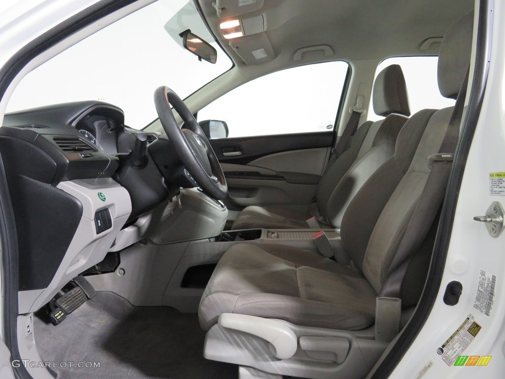 2012 CR-V LX 4WD - Taffeta White / Gray photo #12