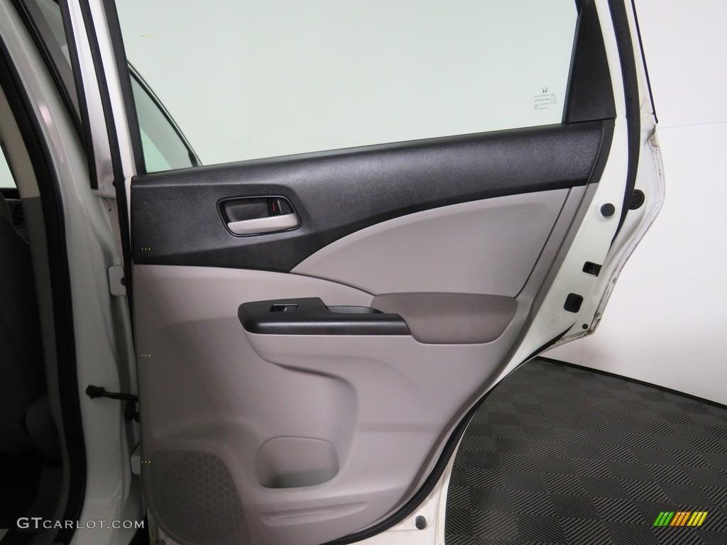 2012 CR-V LX 4WD - Taffeta White / Gray photo #16
