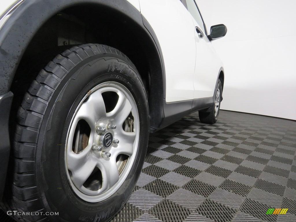 2012 CR-V LX 4WD - Taffeta White / Gray photo #18