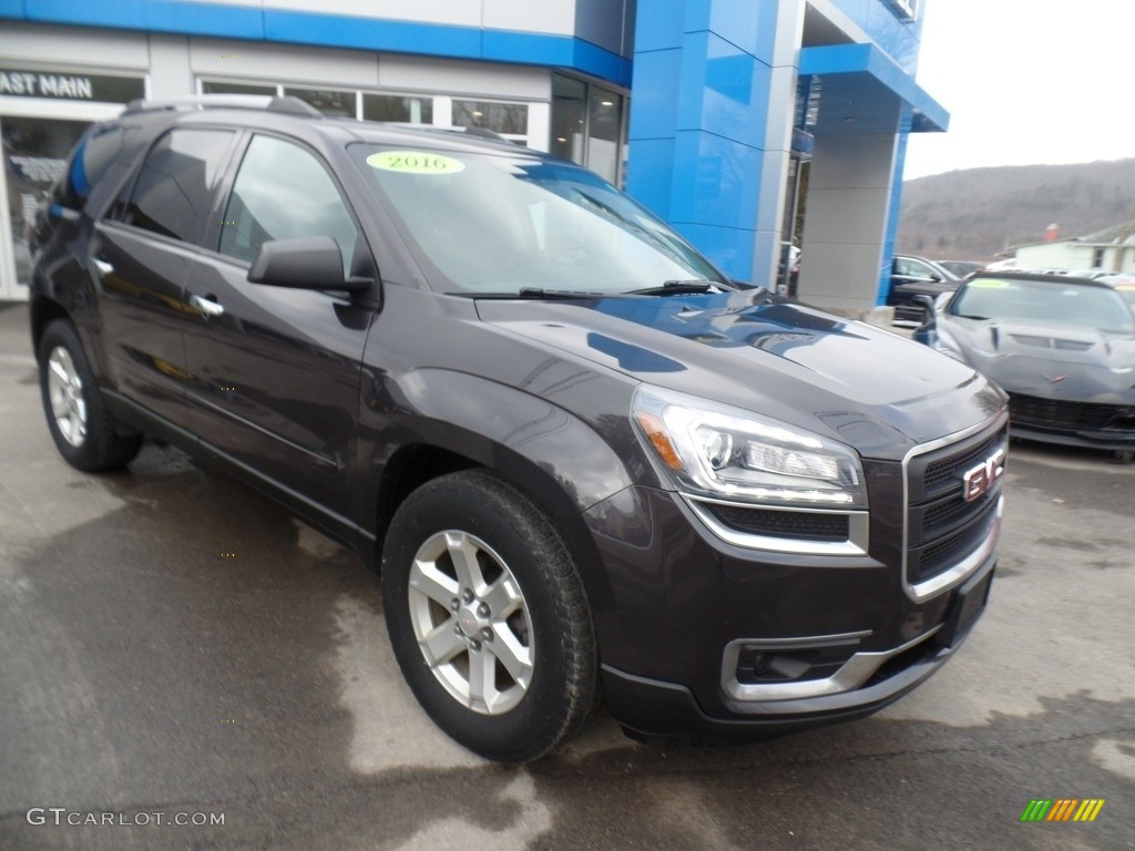 Iridium Metallic GMC Acadia