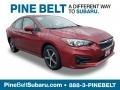 Crimson Red Pearl 2019 Subaru Impreza 2.0i Premium 4-Door