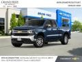 Northsky Blue Metallic 2019 Chevrolet Silverado 1500 LT Double Cab 4WD