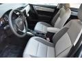 Ash/Dark Gray 2019 Toyota Corolla Interiors