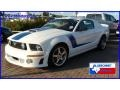 Performance White 2008 Ford Mustang Gallery