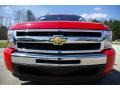 2009 Victory Red Chevrolet Silverado 1500 LS Extended Cab  photo #3