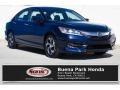 Obsidian Blue Pearl 2016 Honda Accord LX Sedan
